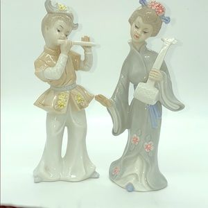 Japan Set Porcelain Figurines